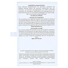 LA MER Sensitiv Skin Ampoule o.Parfum 7x2 Milliliter - Rückseite