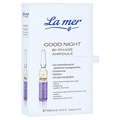 LA MER Good night Bi-Phase Ampoule äth.Öle 7x2 Milliliter