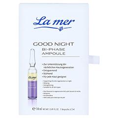 LA MER Good night Bi-Phase Ampoule äth.Öle 7x2 Milliliter - Vorderseite