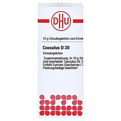 COCCULUS D 30 Globuli 10 Gramm N1 - Vorderseite