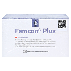 FEMCON Vaginalkonen-Set 1 Stück - Unterseite