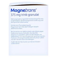 Magnetrans Trink 375 mg Granulat 50 Stück - Linke Seite