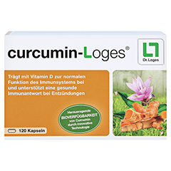 CURCUMIN-LOGES Kapseln 120 Stück - Vorderseite