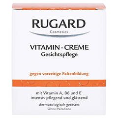 Rugard Vitamin Creme Gesichtspflege 100 Milliliter - Vorderseite