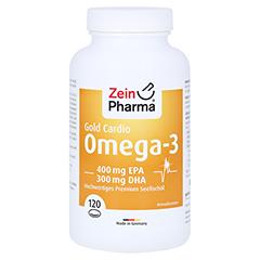 Omega-3 Gold Herz DHA 300 mg/EPA 400 mg Softgelkapseln 120 Stück