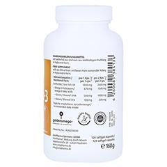 Omega-3 Gold Gehirn DHA 500mg/EPA 100mg 120 Stück - Rechte Seite