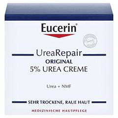 EUCERIN UreaRepair ORIGINAL Creme 5% + gratis Eucerin UreaRepair PLUS Lotion 10% (20ml) 75 Milliliter - Vorderseite