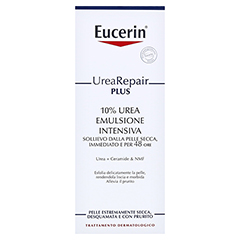 EUCERIN UreaRepair PLUS Lotion 10% + gratis Eucerin UreaRepair PLUS Lotion 10% (20ml) 400 Milliliter - Rückseite