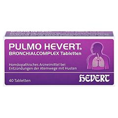 PULMO HEVERT Bronchialcomplex Tabletten 40 Stück N1 - Vorderseite