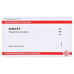 ARNICA D 4 Ampullen 8x1 Milliliter N1 - Vorderseite