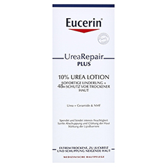 EUCERIN UreaRepair PLUS Lotion 10% + gratis Eucerin UreaRepair PLUS Lotion 10% (20ml) 400 Milliliter - Vorderseite