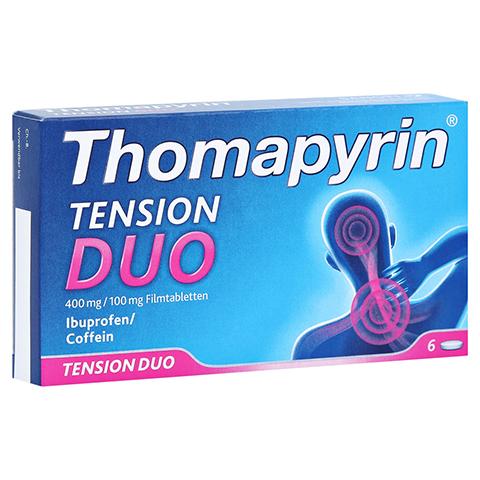 Thomapyrin TENSION DUO 400mg/100mg 6 Stück
