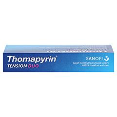 Thomapyrin TENSION DUO 400mg/100mg 6 Stück - Oberseite