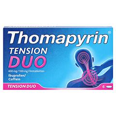 Thomapyrin TENSION DUO 400mg/100mg 6 Stück - Vorderseite