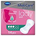 MOLICARE Premium lady pad 3 Tropfen 14 Stück
