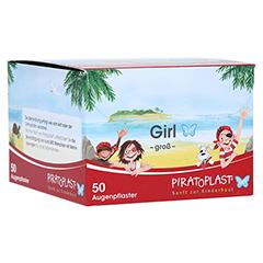 PIRATOPLAST Girl soft Augenpflaster groß 50 Stück