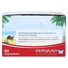 PIRATOPLAST Girl soft Augenpflaster groß 50 Stück - Linke Seite