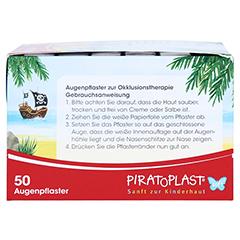 PIRATOPLAST Girl soft Augenpflaster groß 50 Stück - Rechte Seite