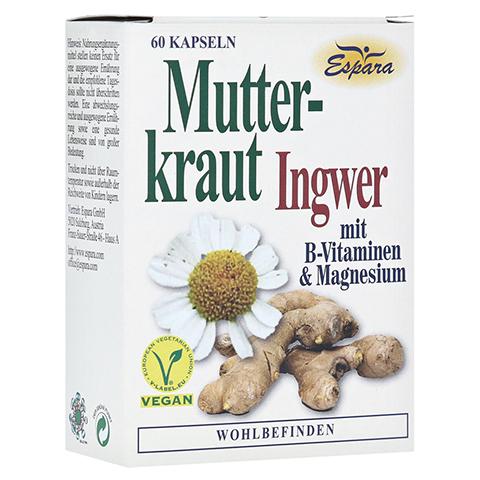 MUTTERKRAUT-INGWER Kapseln 60 Stück