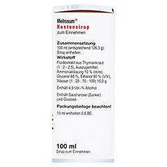 Melrosum Hustensirup 100 Milliliter - Rechte Seite