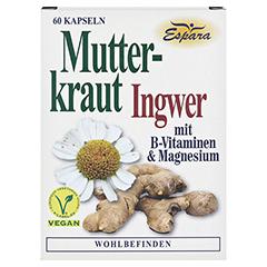 MUTTERKRAUT-INGWER Kapseln 60 Stück - Vorderseite