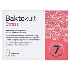 BAKTOKULT Stress Kapseln 30 Stück - Vorderseite