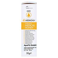 MEDIHONEY antibakterieller Medizinischer Honig 50 Gramm - Rechte Seite