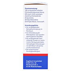 Chlorhexidindigluconat-Lösung 2% Konzentrat 50 Milliliter - Rechte Seite