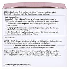 Eucerin Hyaluron-Filler + Volume-Lift Tagespflege Normale/Mischhaut + gratis Eucerin Hyaluron Filler Serum 5 ml 50 Milliliter - Linke Seite