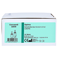 CONVEEN Optima Kondom Urinal 8 cm 30 mm 22030 30 Stück - Linke Seite