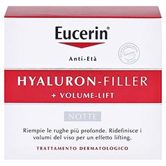 Eucerin Hyaluron-Filler + Volume-Lift Nachtpflege 50 Milliliter - Rückseite