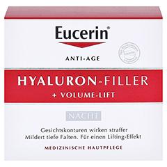 Eucerin Hyaluron-Filler + Volume-Lift Nachtpflege 50 Milliliter - Vorderseite