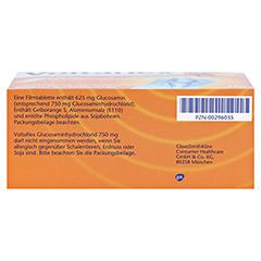Voltaflex Glucosaminhydrochlorid 750mg 180 Stück - Unterseite