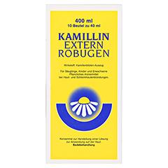 Kamillin-Extern-Robugen Beutel 10x40 Milliliter N2 - Vorderseite