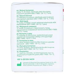 GAZIN Mullkomp.10x10 cm unsteril 8fach Op 100 Stück - Linke Seite