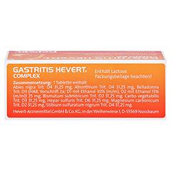 GASTRITIS HEVERT Complex Tabletten 40 Stück N1 - Oberseite