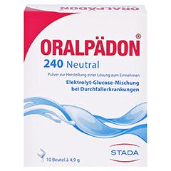 Oralpädon 240 Neutral 10 Stück N1 - Vorderseite