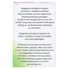 Doppelherz  Knoblauch mit Mistel+Weißdorn 270 Stück - Rückseite