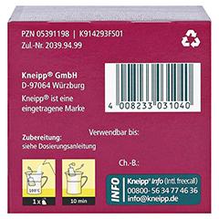 KNEIPP Tee Husten Bronchial Filterbeutel 10 Stück - Unterseite