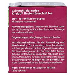 KNEIPP Tee Husten Bronchial Filterbeutel 10 Stück - Rechte Seite