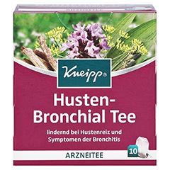 KNEIPP Tee Husten Bronchial Filterbeutel 10 Stück - Vorderseite