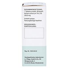 BIOCHEMIE Pflüger 6 Kalium sulfuricum D 6 Tabl. 100 Stück N1 - Rechte Seite