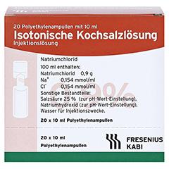 KOCHSALZLÖSUNG 0,9% Pl.Fresenius Injektionslsg. 20x10 Milliliter N3 - Vorderseite