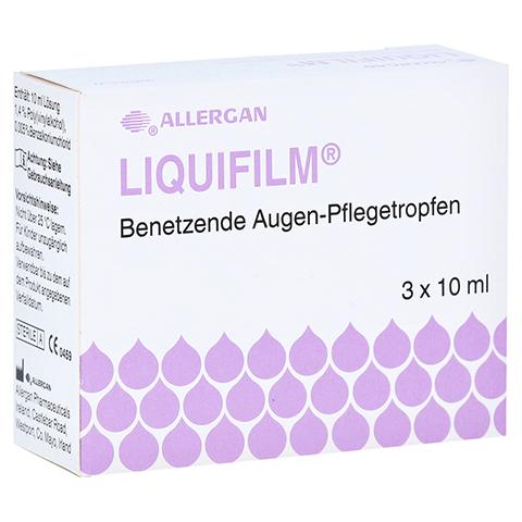 LIQUIFILM Benetzende Augen Pflegetropfen 3x10 Milliliter