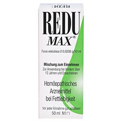 REDU MAX Tropfen 50 Milliliter N1 - Vorderseite