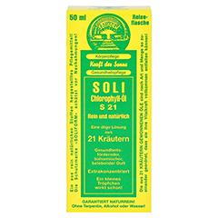 SOLI-CHLOROPHYLL-ÖL S 21 50 Milliliter - Vorderseite
