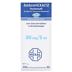 AmbroHEXAL S Hustensaft 30mg/5ml 250 Milliliter N3 - Vorderseite