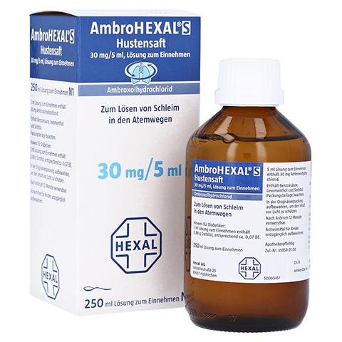 AmbroHEXAL S Hustensaft 30mg/5ml 250 Milliliter N3
