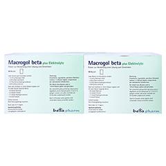 Macrogol beta plus Elektrolyte 100 Stück - Rückseite