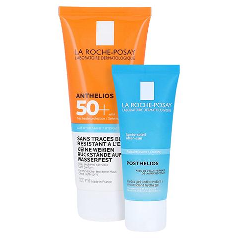 La Roche-Posay Anthelios XL LSF 50+ Sonnenschutz Milch + gratis La Roche Posay Posthelios After-Sun 40 ml 100 Milliliter